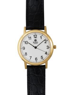 Часы Royal London 40118-02. Цвет: коричневый, золотистый