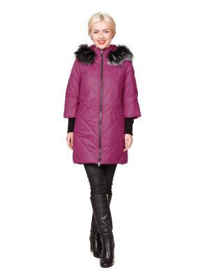 Пальто ROSSO-STYLE. Цвет: фиолетовый