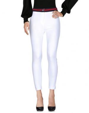 Повседневные брюки BOUTIQUE de la FEMME. Цвет: белый