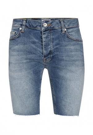 Шорты джинсовые Topman. Цвет: синий