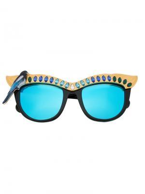 Солнцезащитные очки Magpie Anna Karin Karlsson. Цвет: чёрный