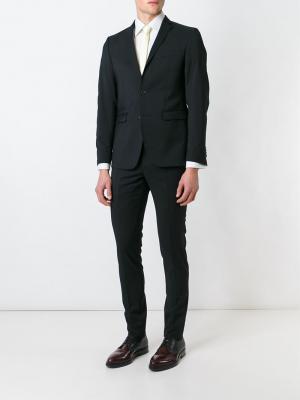 Классический костюм-двойка Suit. Цвет: чёрный