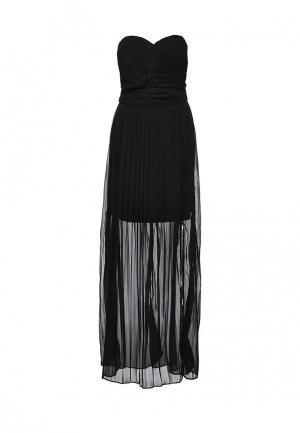 Платье AngelEye London. Цвет: черный