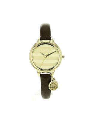 Часы Morgan. Цвет: коричневый