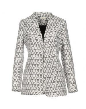 Пиджак ELLA LUNA. Цвет: белый