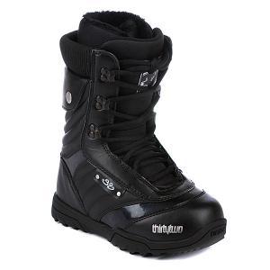 Ботинки для cноуборда женские  Exus Ws 12 Black Thirty Two. Цвет: черный