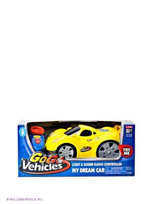 Спортивная машина Keenway. Цвет: желтый, синий, красный