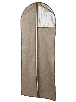 Шкафное наполнение WHHH10-371  Чехол LINEN Beige, 60*135H см WHITE FOX. Цвет: светло-коричневый
