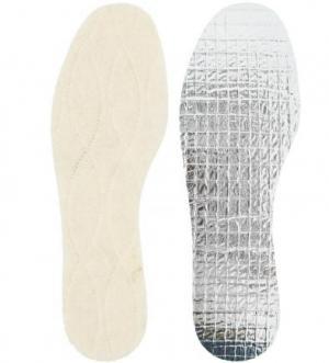 Согревающие стельки для ног Collonil. Цвет: молочный