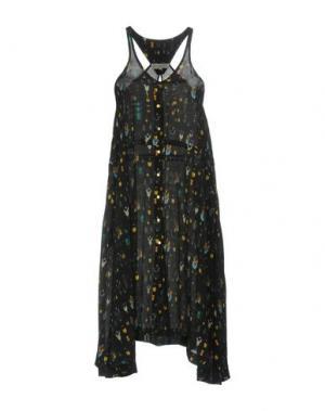 Платье до колена HEIMSTONE. Цвет: черный