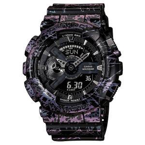 Часы  Ga-110pm-1a Black/Pink Casio G-Shock. Цвет: черный,розовый