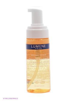 Освежающая очищающая пенка для умывания Lumene Bright Touch. Цвет: прозрачный