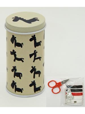 Набор для рукоделия Жирафы Magic Home. Цвет: белый