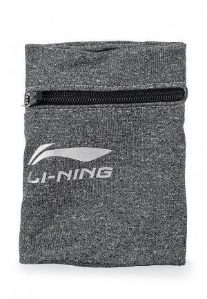 Напульсники Li-Ning. Цвет: серый