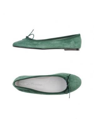 Балетки DODO' LE PARISIENNE. Цвет: зеленый