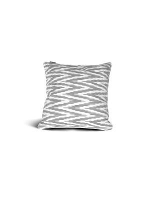 Чехол на подушку декоративныйIkat Square 45*45см RAWEDGE. Цвет: серый