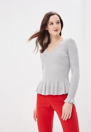 Пуловер QED London. Цвет: серый