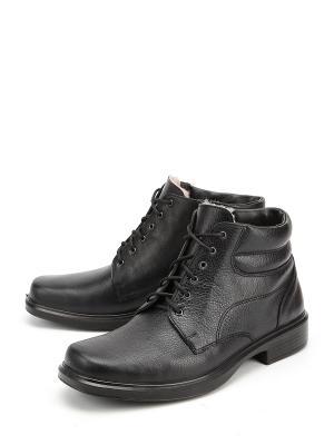 Ботинки Отико. Цвет: черный