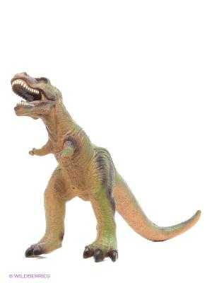 Фигурка Тираннозавр HGL. Цвет: зеленый, бежевый