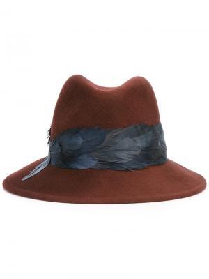 Шляпа Bianca Eugenia Kim. Цвет: красный