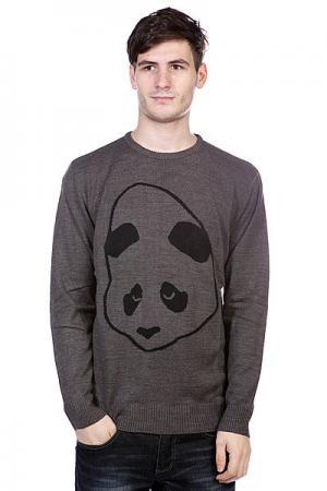 Свитер  Good Head Sweater Charcoal/Heather Enjoi. Цвет: серый