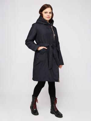 Пальто Frauland. Цвет: темно-синий