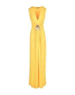Длинное платье SPACE STYLE CONCEPT. Цвет: желтый