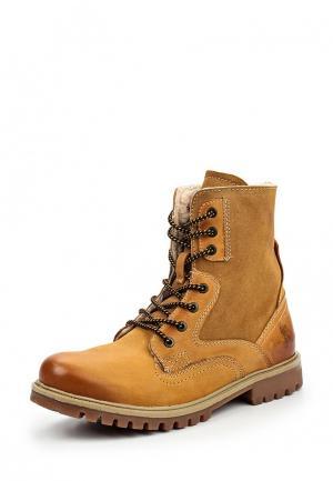 Ботинки Front By Ascot. Цвет: коричневый