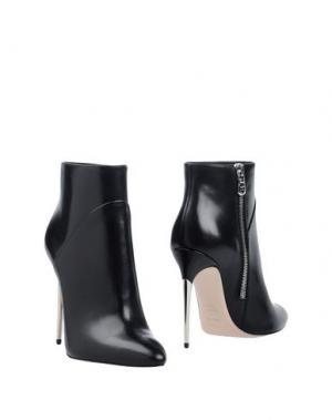 Полусапоги и высокие ботинки SEBASTIAN. Цвет: черный