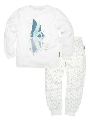 Пижама ДМ Bossa Nova. Цвет: белый