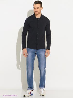 Рубашка JB casual. Цвет: антрацитовый