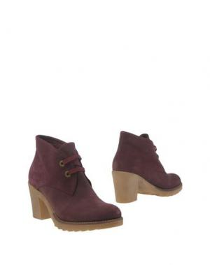 Полусапоги и высокие ботинки GIONATA. Цвет: фиолетовый