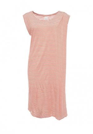 Платье Ichi. Цвет: оранжевый