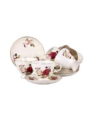 Набор чайный 12 предметов 220мл PATRICIA. Цвет: белый