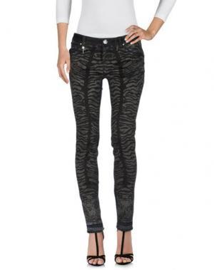 Джинсовые брюки LEROCK. Цвет: свинцово-серый