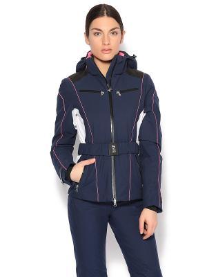 Куртка спорт. EA7. Цвет: темно-синий