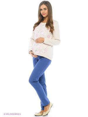 Джемпер женский для беременных Hunny Mammy. Цвет: бежевый