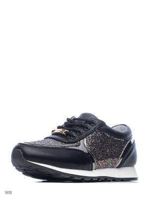 Ботинки Vitacci. Цвет: черный, золотистый