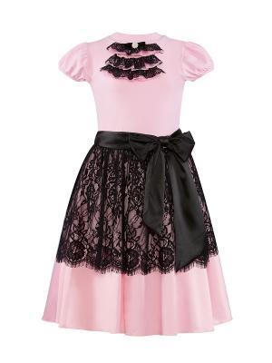 Комплект для девочек Perlitta. Цвет: розовый