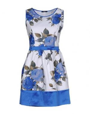 Короткое платье YES ZEE by ESSENZA. Цвет: синий
