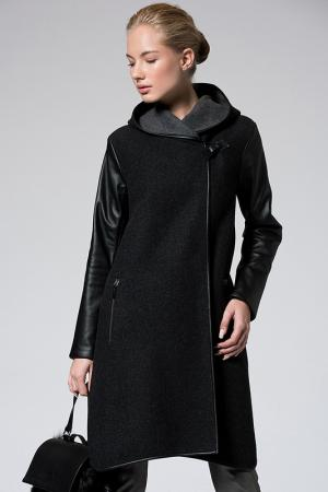 Пальто VESPUCCI BY VSP. Цвет: dark grey
