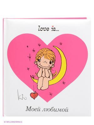 Love is... Моей любимой Эксмо. Цвет: белый, фуксия