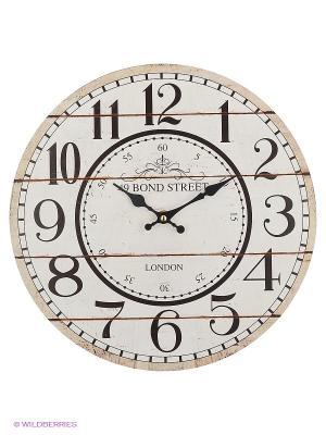 Часы настенные Bond Street Mitya Veselkov. Цвет: белый