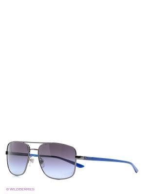 Очки солнцезащитные Versace. Цвет: темно-серый