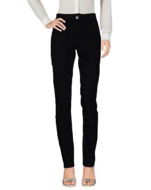 Повседневные брюки KRISTINA TI. Цвет: черный