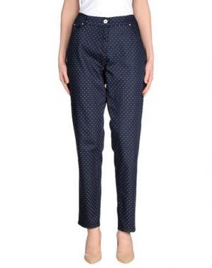 Джинсовые брюки JEANS & POLO. Цвет: синий