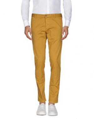 Повседневные брюки BASICON. Цвет: охра