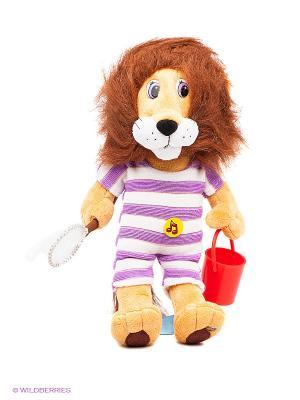 Мягкая игрушка Бонифаций Мульти-пульти. Цвет: коричневый, желтый, фиолетовый