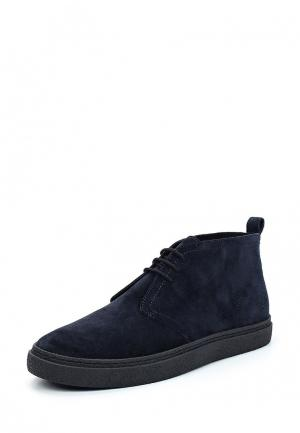 Ботинки Fred Perry. Цвет: синий