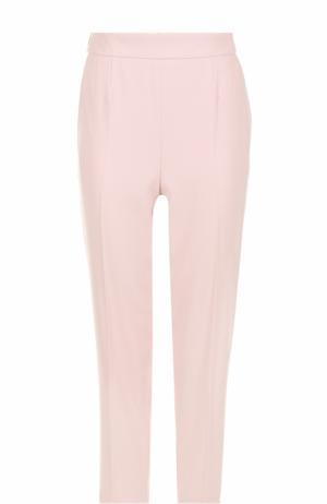 Укороченные брюки со стрелками Escada. Цвет: светло-розовый